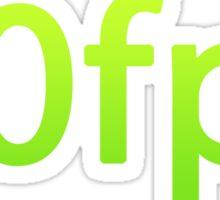 60 fps Sticker