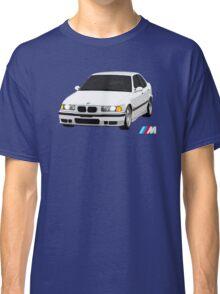 E36 M3 White Rolling Classic T-Shirt