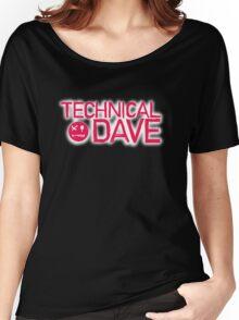 Technical Dave Logo Women's Relaxed Fit T-Shirt