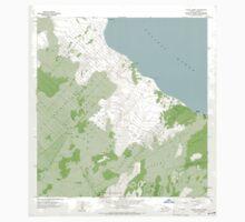 USGS TOPO Map Hawaii HI Pahoa North 349638 1965 24000 One Piece - Long Sleeve