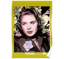 Ingrid (Bergman). Poster