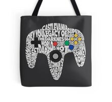 N64 Controller - Typography  Tote Bag