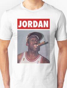 Michael Jordan (Championship Cigar) Unisex T-Shirt