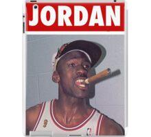 Michael Jordan (Championship Cigar) iPad Case/Skin