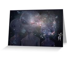 In Space Greeting Card