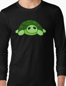 Kenny - the baby tortoise Long Sleeve T-Shirt