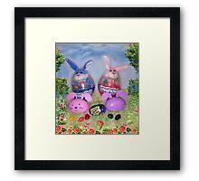 The Bunnykins Framed Print