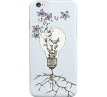 Let Your Idea Bloom and Grow iPhone Case/Skin