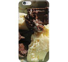 Home Made Dark Choc. Truffles and Vanilla Ice Cream iPhone Case/Skin