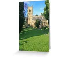 St Marys, Chipping Norton Greeting Card