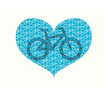 For the Love of Bikes Art Print