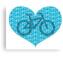 For the Love of Bikes Canvas Print