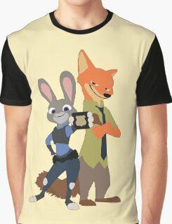 Zootopia - Nick & Judy Graphic T-Shirt