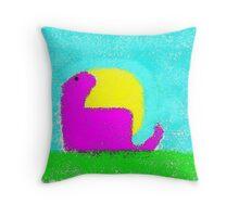 Dino by Ken Yu Throw Pillow