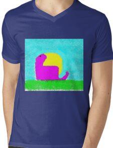 Dino by Ken Yu Mens V-Neck T-Shirt