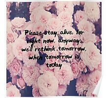 Rethink tomorrow Poster