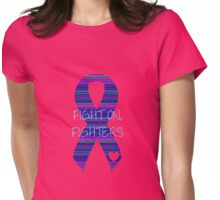 Fight On, Fighters Womens Fitted T-Shirt