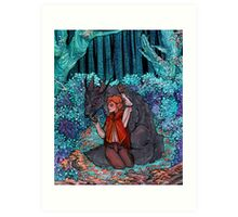 In the Woods Somewhere Art Print
