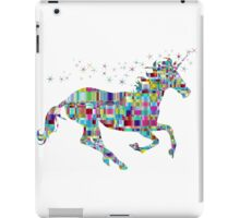rainbow unicorn iPad Case/Skin