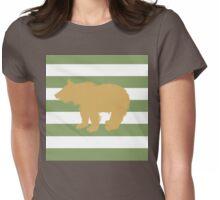 Bear cub Womens Fitted T-Shirt
