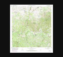 USGS TOPO Map Puerto Rico PR Bayaney 362049 1970 20000 Unisex T-Shirt
