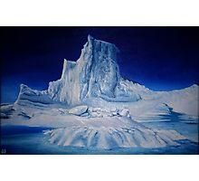 Antartic Landscape Photographic Print