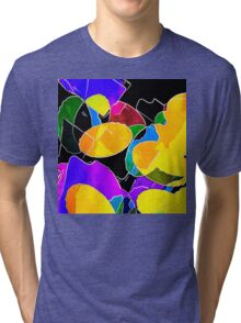 Color Circus Abstract Tri-blend T-Shirt
