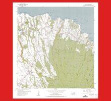 USGS TOPO Map Hawaii HI Haiku 349233 1957 24000 Kids Tee