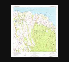 USGS TOPO Map Hawaii HI Haiku 349233 1957 24000 Unisex T-Shirt