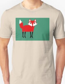 FOX WEARING STILETTOS Unisex T-Shirt
