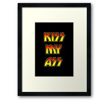 Funny Heavy Metal Rock Quote Humor Framed Print