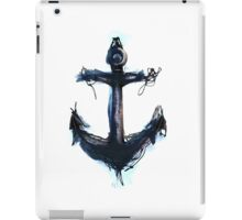 White Anchor iPad Case/Skin