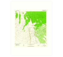 USGS TOPO Map Hawaii HI Kahuku Ranch 349341 1962 24000 Art Print