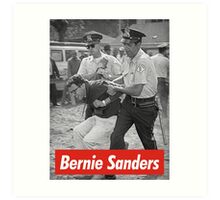 bernie sanders arrested 1963 Art Print