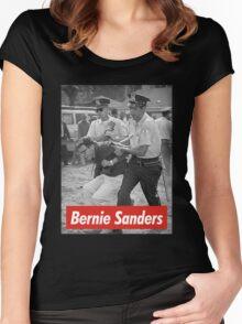 bernie sanders arrested 1963 Women's Fitted Scoop T-Shirt