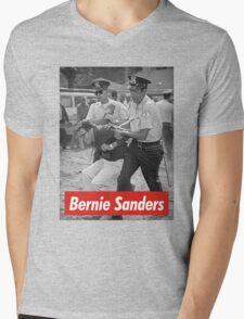 bernie sanders arrested 1963 Mens V-Neck T-Shirt