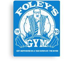 Foley's Gym Canvas Print
