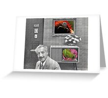 Color TV Greeting Card