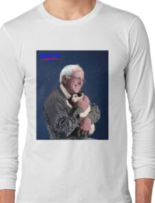 Cat and Bernie Long Sleeve T-Shirt