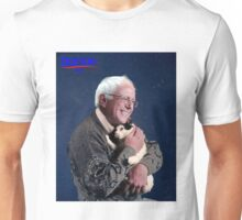 Cat and Bernie Unisex T-Shirt