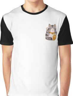 lucky cat-Maine Coon Graphic T-Shirt