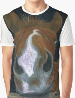 Nosy Foal Graphic T-Shirt