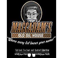 Macadam's Old Oil House Photographic Print