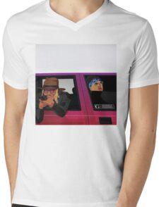 young metro Mens V-Neck T-Shirt