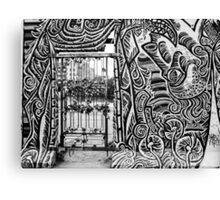 Berlin wall - East side gallery  Canvas Print