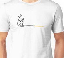 Sketchy Match Print Unisex T-Shirt