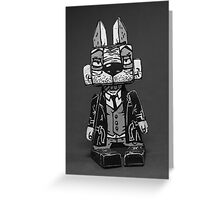 Blake Burns Detective Bunny Greeting Card