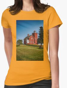 Two Harbors 3 Womens Fitted T-Shirt