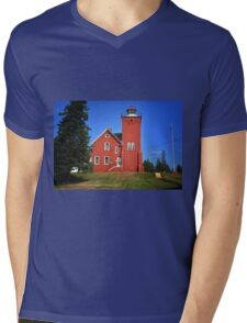 Two Harbors 2 Mens V-Neck T-Shirt
