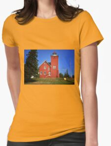 Two Harbors 2 Womens Fitted T-Shirt